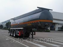 瑞江牌WL9407GFWC型腐蚀性物品罐式运输半挂车