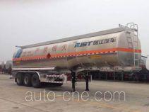 瑞江牌WL9407GYYD型铝合金运油半挂车