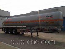 RJST Ruijiang WL9408GRYD flammable liquid aluminum tank trailer
