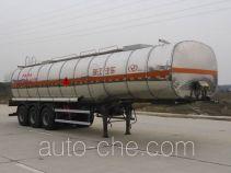 RJST Ruijiang WL9408GRYE flammable liquid aluminum tank trailer