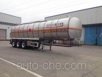 RJST Ruijiang WL9408GRYF flammable liquid aluminum tank trailer