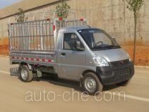 五菱牌WLQ5029CCYQPY型仓栅式运输车