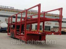 Yazhong Cheliang WPZ9200TCL vehicle transport trailer