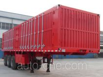 Yazhong Cheliang WPZ9400XXY box body van trailer