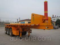 Yazhong Cheliang WPZ9400ZZXP flatbed dump trailer