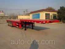 Yazhong Cheliang WPZ9401TPB flatbed trailer