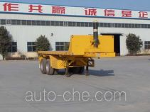 Sanwei WQY9350ZZXP flatbed dump trailer