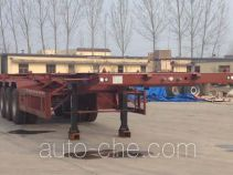 Sanwei WQY9400TWY dangerous goods tank container skeletal trailer