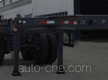 Lulutong WSF9351TWY dangerous goods tank container skeletal trailer