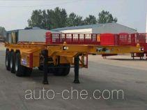 Lulutong WSF9402TWY dangerous goods tank container skeletal trailer