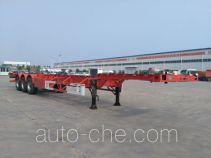 东润牌WSH9404TJZ型集装箱运输半挂车