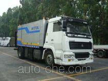 Weituorui WT5164TYHB microwave pavement maintenance truck