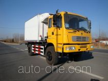 Desert off-road refrigerated truck