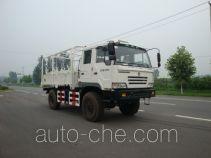 Desert off-road seismometer arrangement truck