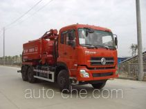 Wuhuan WX5251GQW sewer flusher and suction truck