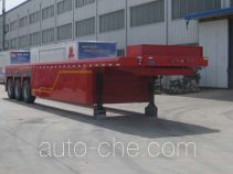 Qianxing WYH9350TYC timber/pipe transport trailer