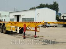 Weizheng Baiye WZB9400TJZ container transport trailer