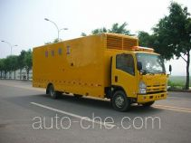 Kowloon WZL5100XQX engineering rescue works vehicle