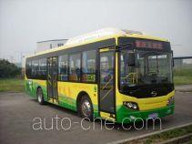 五洲龙牌WZL6100PHEVGEG3型混合动力城市客车