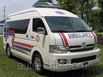 八达牌XB5037XJH4型救护车