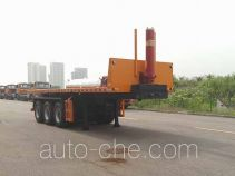 Tiema XC9400ZZXP01 flatbed dump trailer
