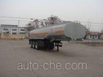 Fuxi XCF9400GFWD corrosive materials transport tank trailer