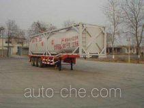 Fuxi XCF9403GHY chemical liquid transport frame tank trailer