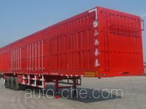 Chengtai XCT9402XXY box body van trailer