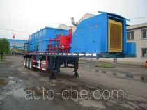 Jiping Xiongfeng XF9380TJC well flushing trailer