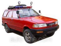 庐山牌XFC5020TXFBP20E型泵浦消防车