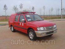 庐山牌XFC5021TXFBP01型泵浦消防车