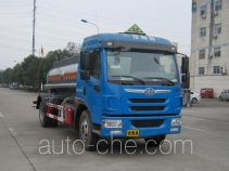 Peixin XH5168GFW corrosive substance transport tank truck