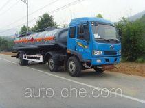 培新牌XH5259GHY型化工液体运输车