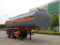 Peixin XH9350GFW corrosive materials transport tank trailer