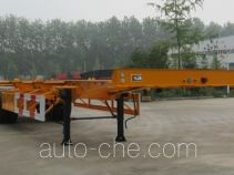 Guoshi Huabang XHB9351TJZ container transport trailer