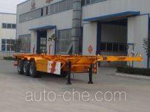 Guoshi Huabang XHB9400TJZG container transport trailer