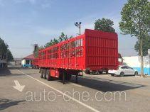 鑫宏达牌XHD9370CCY型仓栅式运输半挂车