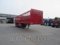 鑫宏达牌XHD9400CCY型仓栅式运输半挂车