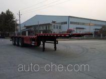 Zhongji Huashuo flatbed trailer