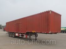 Zhongji Huashuo XHS9403XXYE box body van trailer