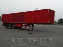 Zhongji Huashuo box body van trailer