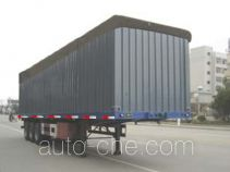 Xinhuaxu soft top box van trailer
