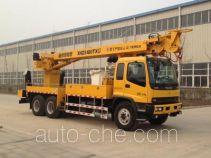 Hailunzhe XHZ5180TXG integrated pole setting truck
