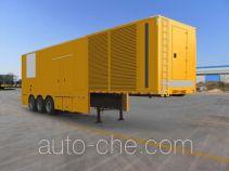 Hailunzhe XHZ9360XDY power supply trailer