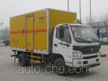 新飞牌XKC5080XRY4B型易燃液体厢式运输车