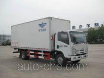 Frestech XKC5100XBWB3 insulated box van truck