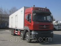 Frestech XKC5310XBW4L insulated box van truck