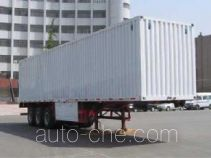 Yuntai XLC9400XXY box body van trailer