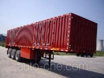 Yuntai XLC9401XXY box body van trailer