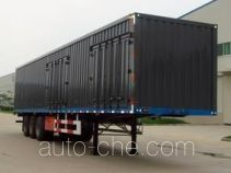 Yuntai XLC9402XXY box body van trailer